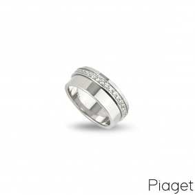 Piaget White Gold Diamond Set Possession Ring G34PX455